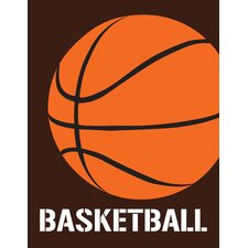 Sports - Basketball by Tenisha Graphic Art on Canvas