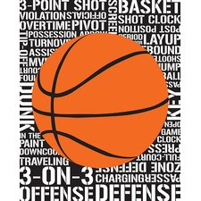 Sports - Basketball by Designs by Tenisha Graphic Art on Canvas