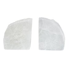 Selenite Book End (Set of 2)