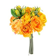 11 Stems Artificial Rose Bouquet