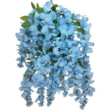 15 Stems Wisterria Long Hanging Flower Bush