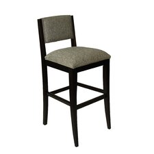 """Soho 30"""" Bar Stool with Cushion (Set of 2)"""