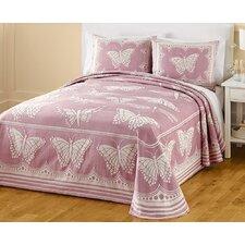 Butterfly Jacquard Bedspread
