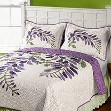 Wisteria Whole Cloth Quilt