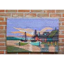 Boats and Houses Tapestry Wall Décor