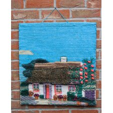 Thatch Cottage Tapestry Wall Décor