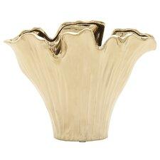 Ceramic Gold Vase