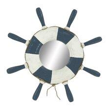 Deerfield Ship Wheel Mirror
