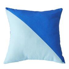 Cristina Split Color Outdoor Throw Pillow