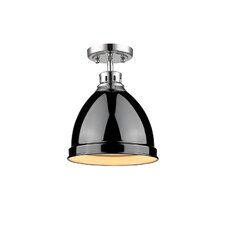 Bowdoinham 1 Light Semi Flush Mount