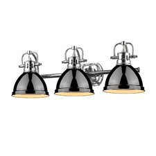 Bowdoinham 3 Light Vanity Light