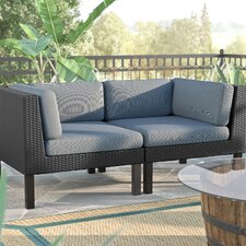 Zoar 2 Piece Deep Seating Group with Cushions