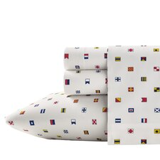Longitude 200 Thread Count Flag Sheet Set
