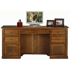 Meredith Computer Desk with Double Pedestal
