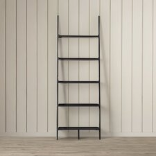"Topsail 74.75"" Leaning Bookcase"
