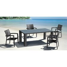 Durham Outdoor Dining Arm Chair (Set of 2)