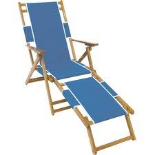 Portsville Oak Wood Commercial Grade Beach Chair