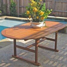 Sabbattus Heavy-Duty Extendable Wood Dining Table