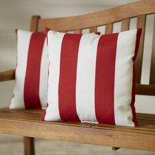 Kensington Outdoor Throw Pillow (Set of 2)