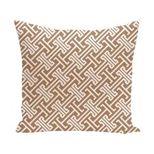 Hancock Leeward Key Geometric Outdoor Throw Pillow
