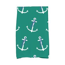 Hancock Anchor Whimsy Print Hand Towel