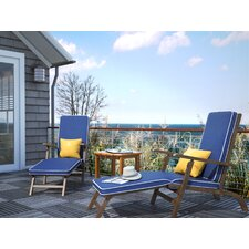 Shearwater Chaise Lounge with Cushion