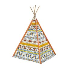 Aztec Tribal Kid Play Teepee