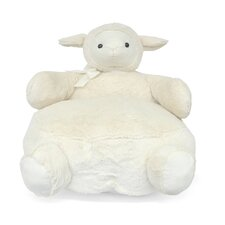 Sheep Figural Plush Kids Novelty Chair