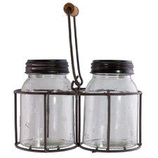 Double Jar Basket