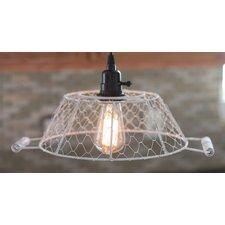 "14.25"" Metal Oval Lamp Shade"