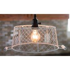 "15.63"" Metal Oval Lamp Shade"