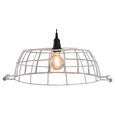 "21"" Metal Oval Lamp Shade"