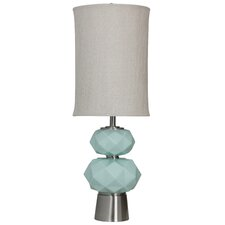 Savannah 37'' Table Lamp with Drum Shade