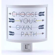 Choose Your Own Path Night Light