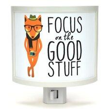 Focus on the Good Stuff Night Light