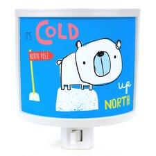 It's Cold Polar Bear Night Light