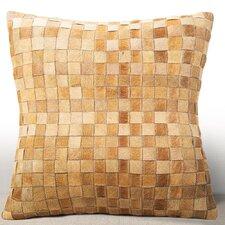Adagio Leather Throw Pillow