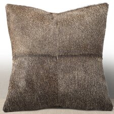 Del Rey Leather Throw Pillow