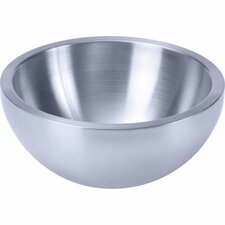 Double Walled Stainless Steel Salad Bowl