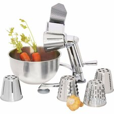 Maxam Vegetable Chopper with 5 Quart Bowl
