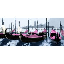 Gondoles Venise Rose Panel Headboard