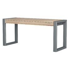 Metal/Wood Kitchen Bench