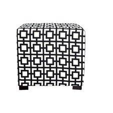 Merton Gigi Square 4-Button Upholstered Ottoman