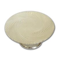 Trophy Footed Glass Cake Stand