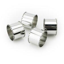 Tervy Beaded Stainless Steel Napkin Ring