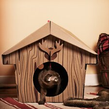 "13.78"" Cabin Cat Playhouse"