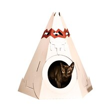 "20.87"" Teepee Cat Playhouse"