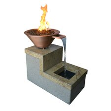 Propane and Natural Gas Tabletop Fireplace