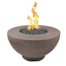 Sienna Concrete Natural Gas Fire Pit
