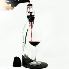 4 Piece Wine Aerator Set with Stand